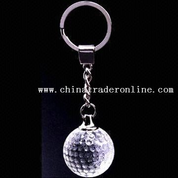 Ball Shape Crystal Keychain