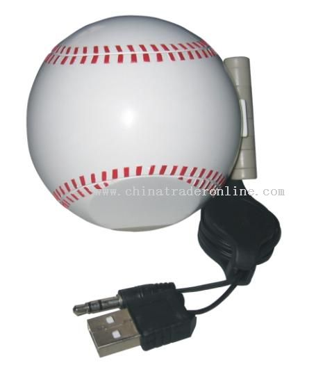 Baseball speaker