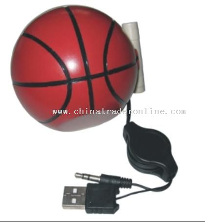 Basketball speaker