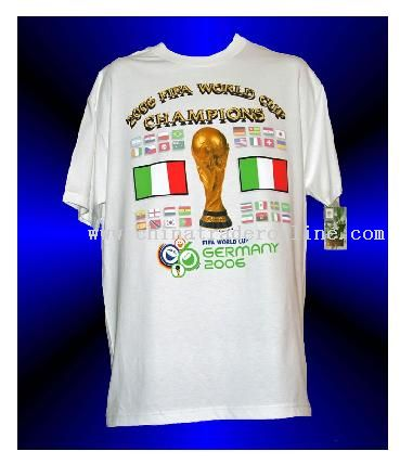 finals license world cup t-shirts