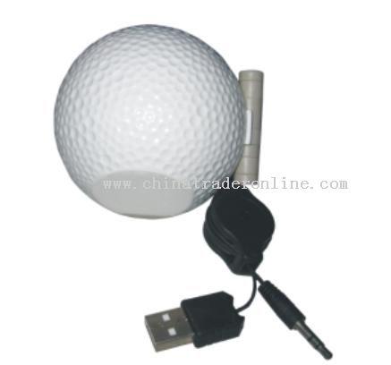 Golfball speaker
