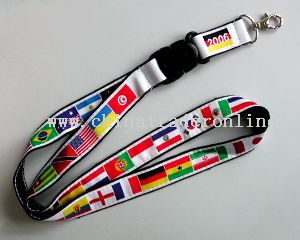 Lanyard 32 countries of the World Cup