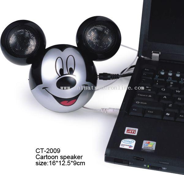 Mickey speaker