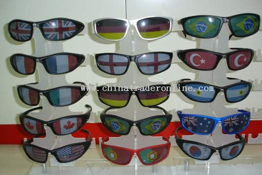 National Flag Sunglasses from China