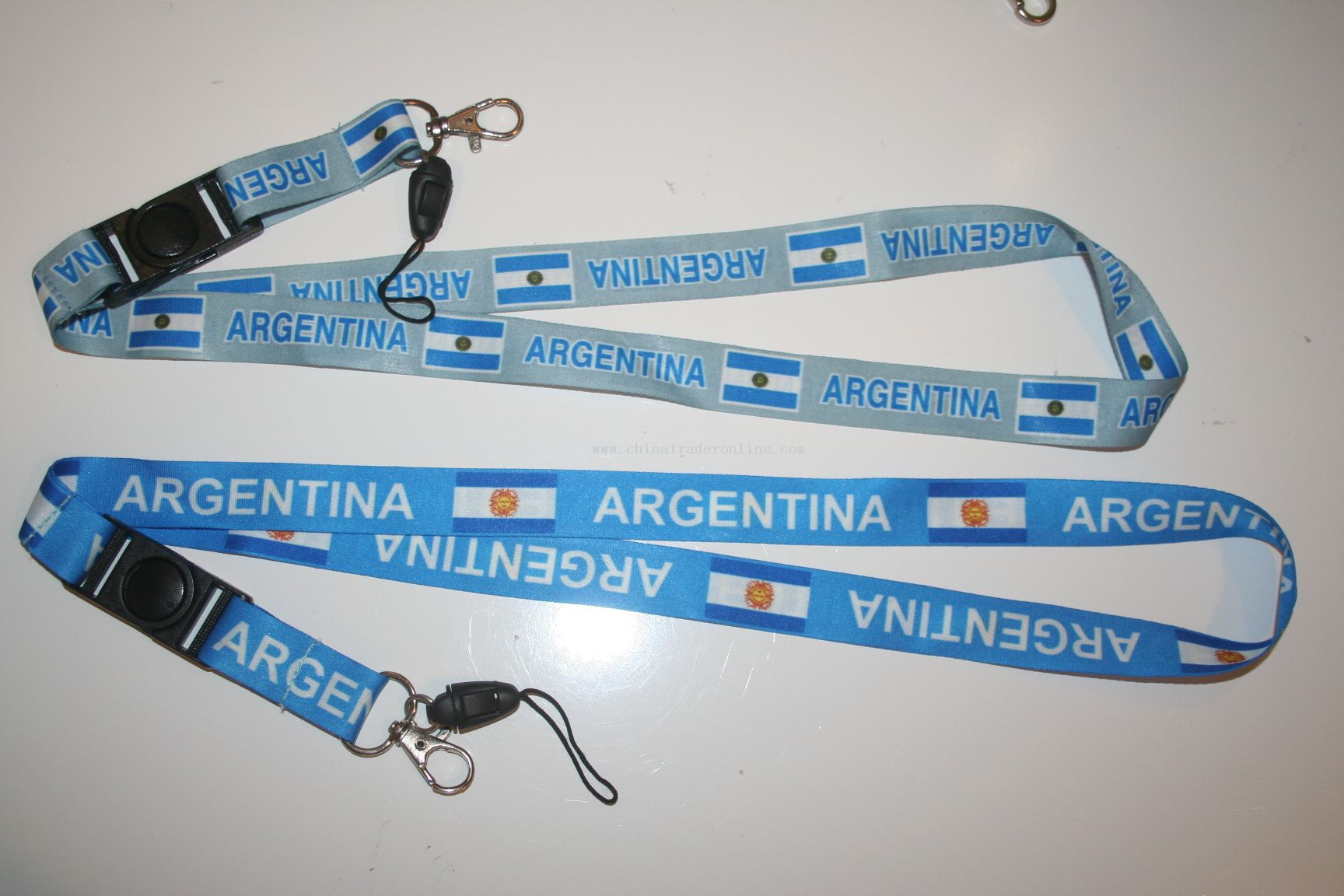 ARGENTINA COUNTRY FLAG LANYARDS KEYCHAINS PASSHOLDERS FIFA WORLD CUP SOCCER FOOTBALL