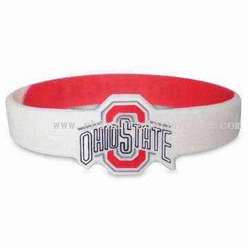 Flag Silicone world cup Wristband