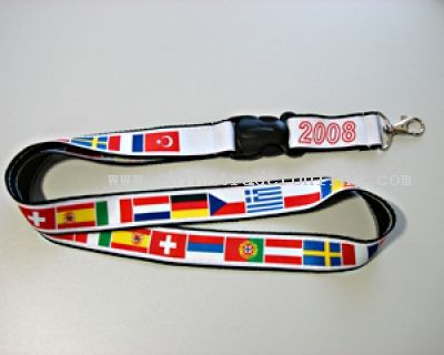 Lanyard 16 countries of the European Football