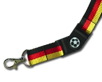Lanyard with plastic buckle