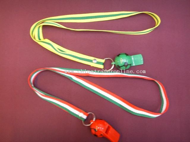 Lanyard with World Cup Plus Whistle