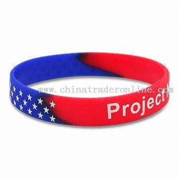 world cup Flag Silicone Wristband