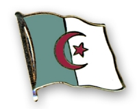 Flag Pins Algeria (swinging)