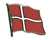 Flag Pins Denmark (swinging)