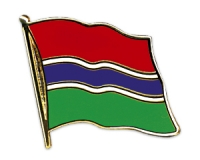 Flag Pins Gambia (swinging)
