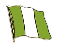 Flag Pins Nigeria (swinging)