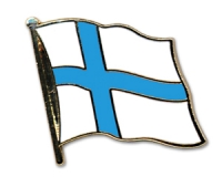 Flag Pins Finland (swinging)