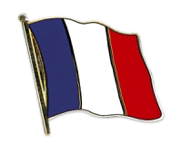 Flag Pins France (swinging)