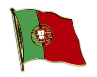 Flag Pins Portugal (swinging) from China