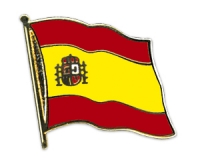 Flag Pins Spain (swinging)
