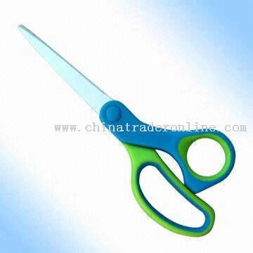 Stationery Scissors with 171mm Length and Soft Handle