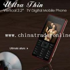 Super Slim TV Mobile Phone Quad Band from China