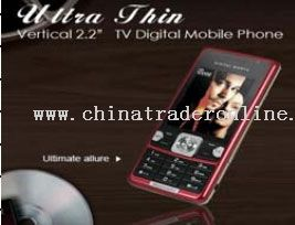 TV Mobile Phone Quad Band from China