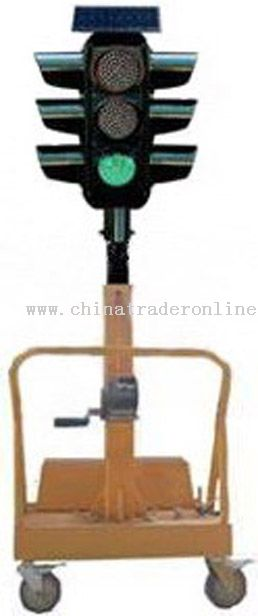 4 Way Intersection Solar Traffic Light,Solar Traffic Light China