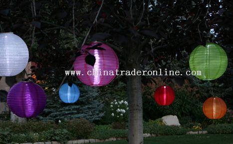 China Silk Solar Lantern