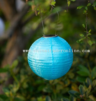 Soji Silk Solar Lantern