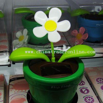 Solar Flowerpot,Solar Toy