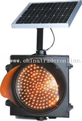 Square Solar Traffic Light