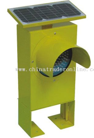 Vertical Type Solar Traffic Light