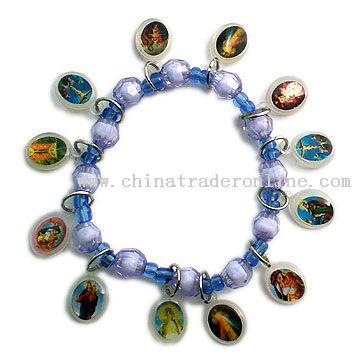 Acrylic Rosary Bracelet