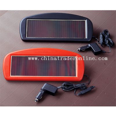 Solar Powerd 12V Battery Trickle Charger