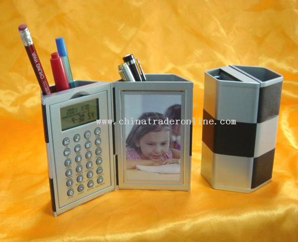 Magic Pen holder with Calculator and Calendar Function from China