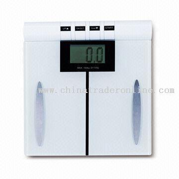 USB Multifunction Health Body Fat Scale with High Precision Strain-guage Sensor