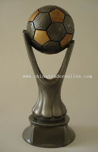 Polyresin Trophy/Award/Promotion/Resinic/Prize/Football/Player/Soccer/Cup