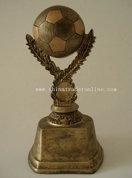 Polyresin Trophy/Award/Promotion/Resinic/Prize/Football/Player/Soccer/Shoe