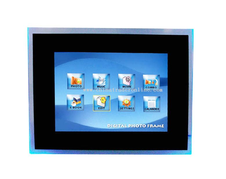10.4 Inch Digital Photo Frame with Multifunction from China
