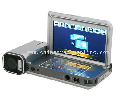 3.0 inch 5.0 MP Sleek Clamshell Digital Camera with Widescreen