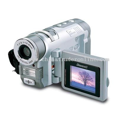 3.1 Mage Pixels CMOS Digital Camcorder Support SD/MMC Card