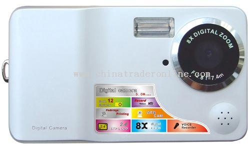 CMOS 5.0Mega Pixels Sensor Digital Camera