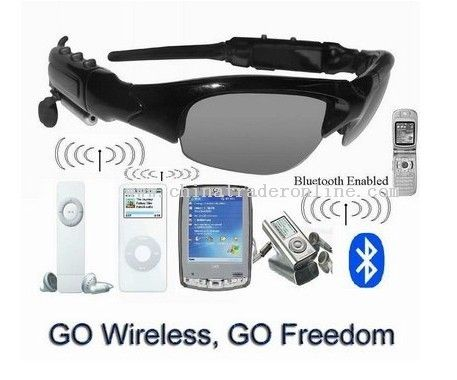 Sunglasses MP3 player+Bluetooth