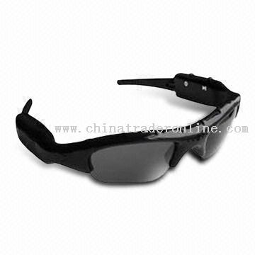 Sunglasses Hidden Camera DVR with MP3 function
