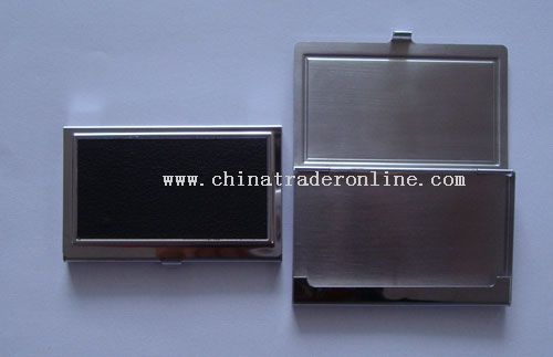 Stainless Steel Business Name Card Case