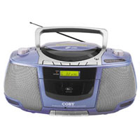 Portable MP3/CD/Radio/Stereo Cassette Player/Recorder