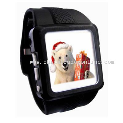 MP4 Wrist Watch from China