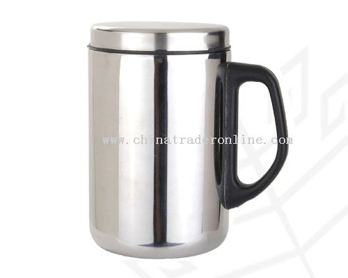 Stainless Steel Vacuum Office Mug