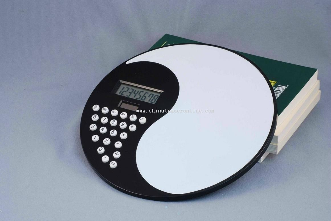 Calculator With Mouse Pad