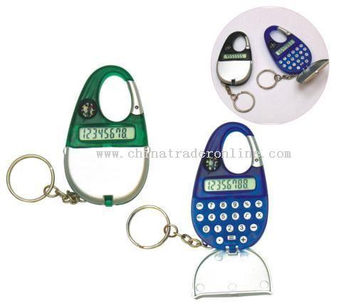 Key-Chain Carabiner Calculator