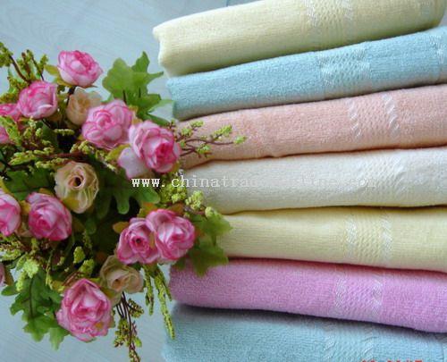 Bamboo Fiber Face Towel